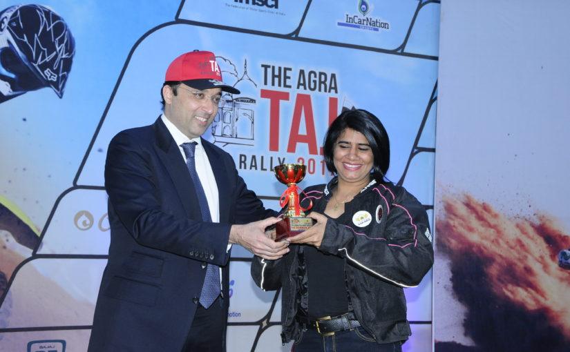 Agra First Bike Rally Started From Hotel Clarks Shiraz