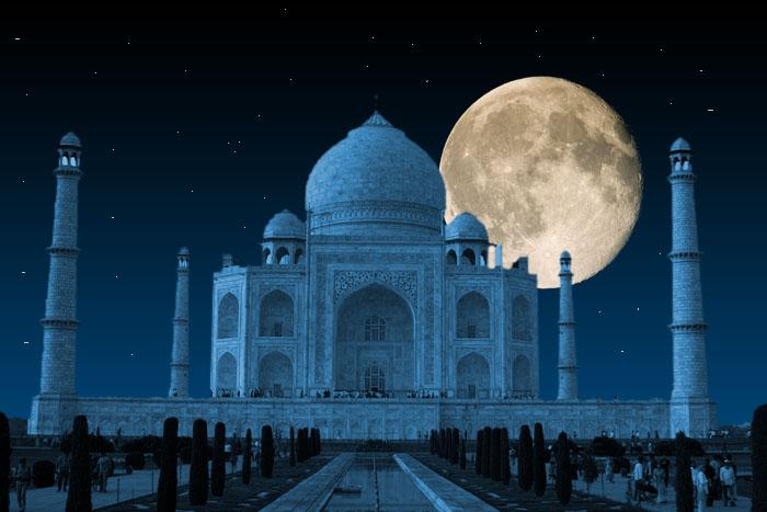 World Heritage Sites – Agra – Taj Mahal – Night Viewing